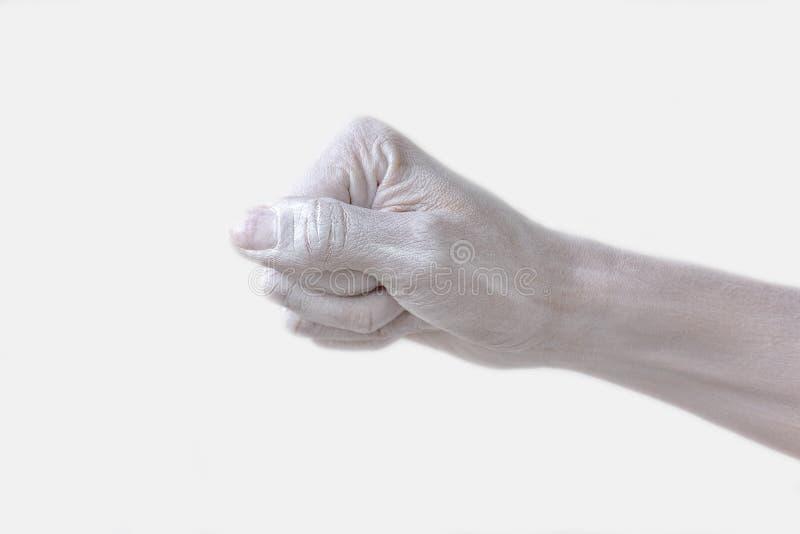 Gestos, posiciones y expresiones con las manos y los fingeres femeninos imágenes de archivo libres de regalías
