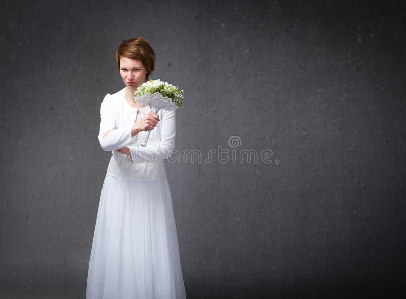 Gestos rudes do casamento imagem de stock royalty free