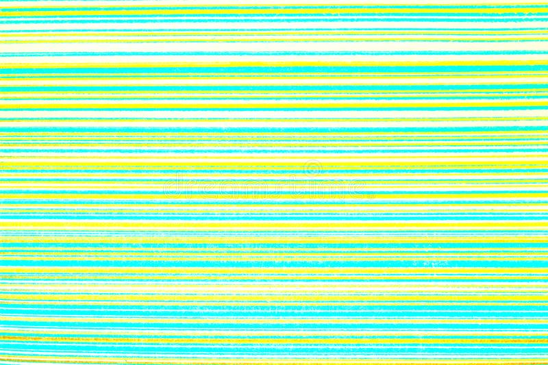 Gestreept behang Heldergroene achtergrond in een horizontale verdonkerde band van goud, vignet Textuur van de Grunge de lichtgroe royalty-vrije stock afbeelding