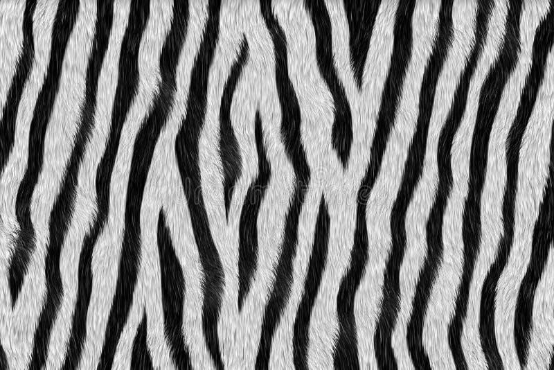 Gestreept - dierlijk bont stock afbeelding