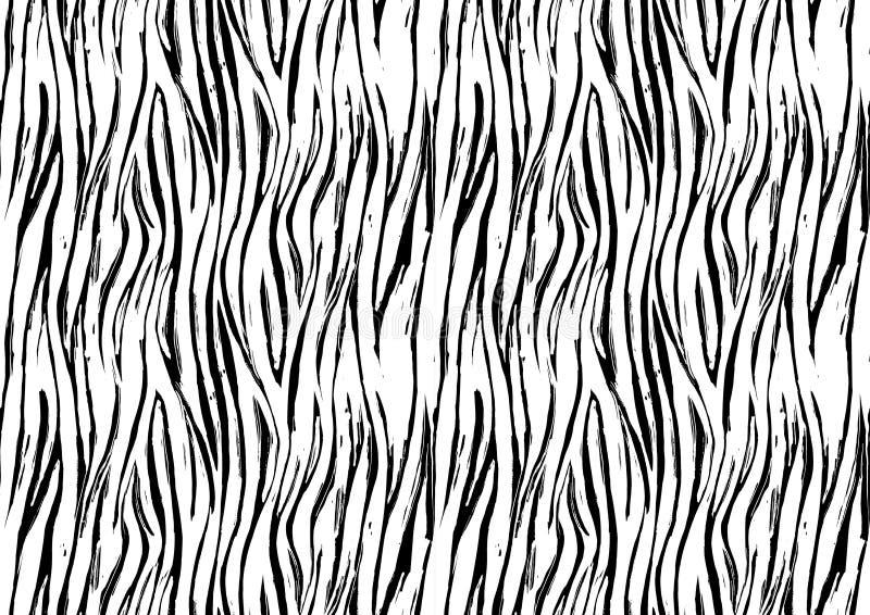 Gestreept druk naadloos patroon als achtergrond Rebecca 36 royalty-vrije illustratie