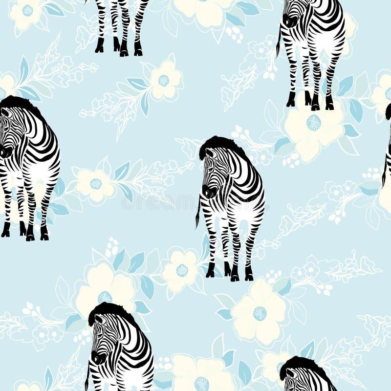 Gestreept patroon, illustratie, dier stock fotografie