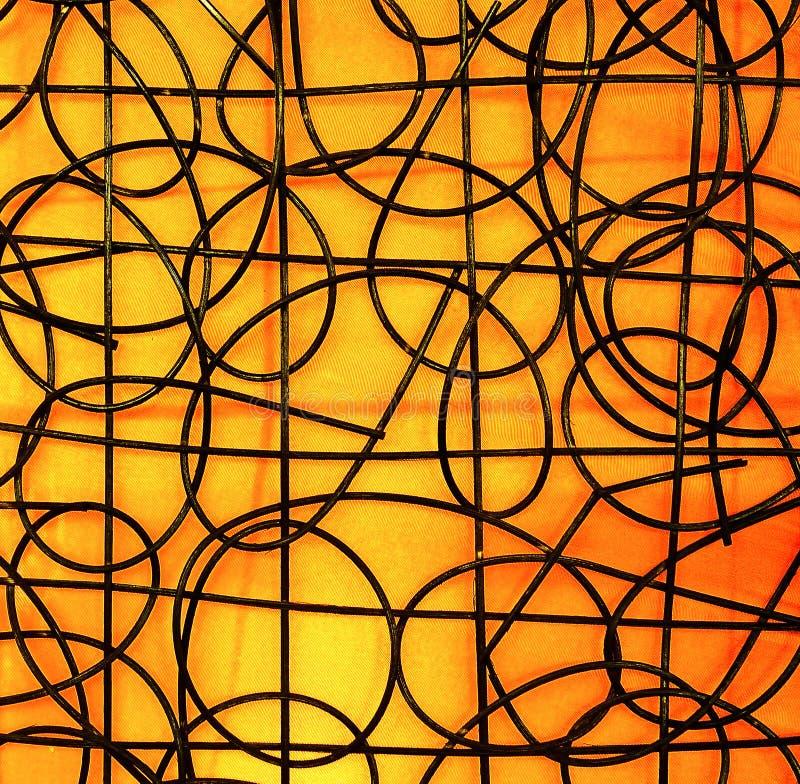 Gestreepte abstracte achtergrond royalty-vrije stock afbeelding