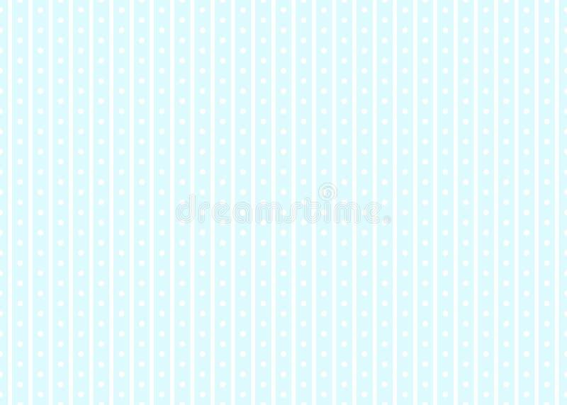 Gestreepte abstracte achtergrond met witte en blauwe strepen Vector illustratie EPS10 vector illustratie