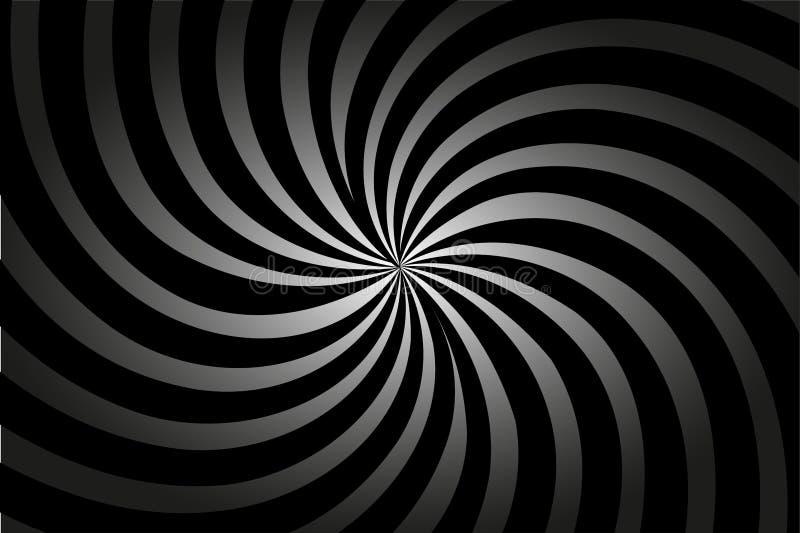 Gestreepte abstracte vectorachtergrond, vector illustratie