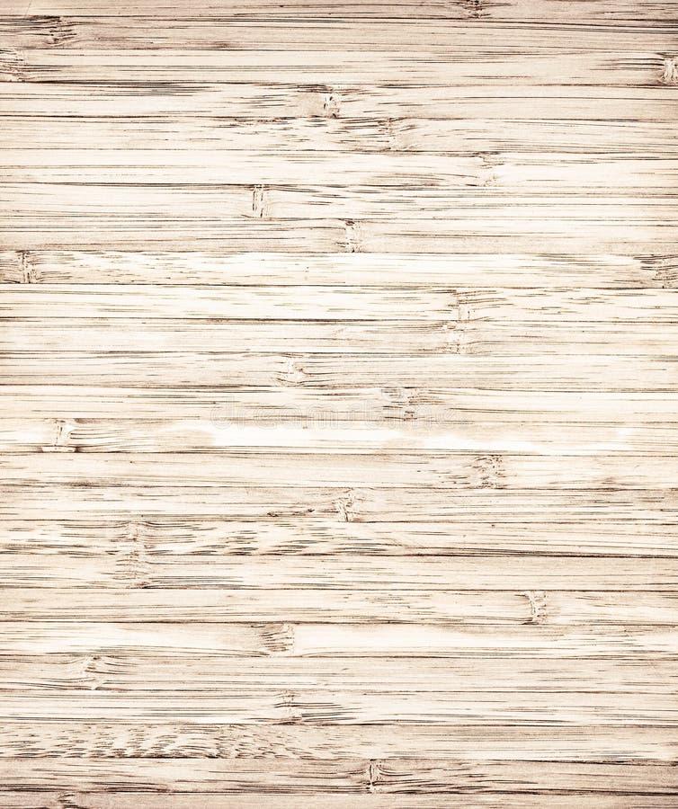 Gestreepte bruine bamboetextuur royalty-vrije stock afbeeldingen