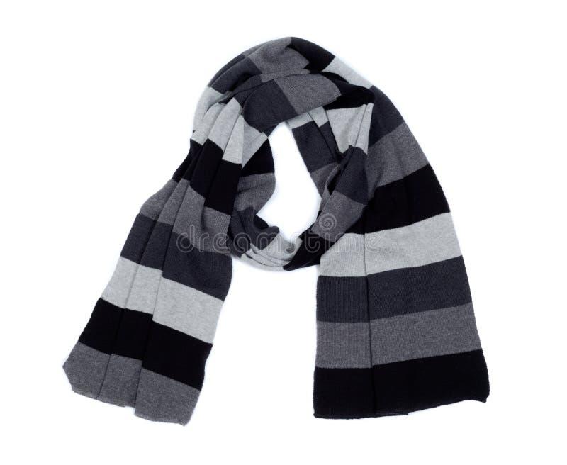 Download Gestreepte gebreide sjaal. stock afbeelding. Afbeelding bestaande uit grijs - 39106921