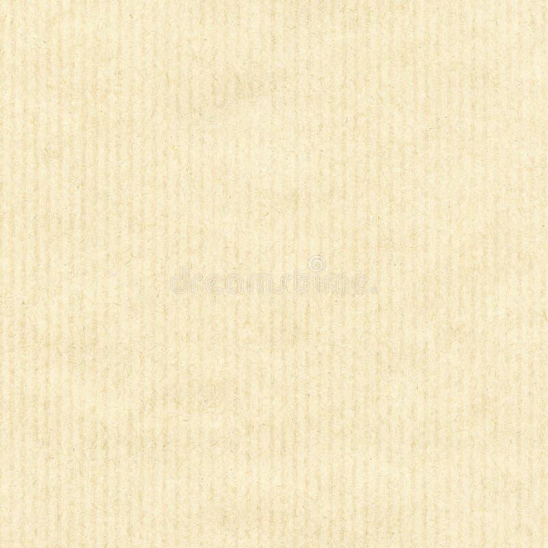 Gestreepte gele document textuur royalty-vrije stock foto's