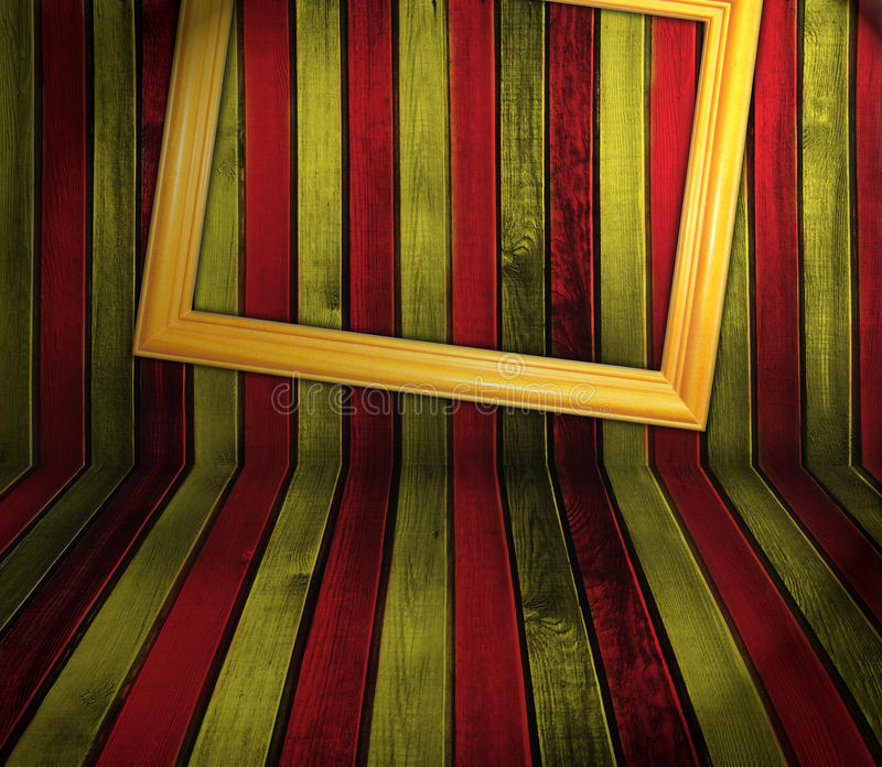 Gestreepte houten achtergrond royalty-vrije stock afbeelding
