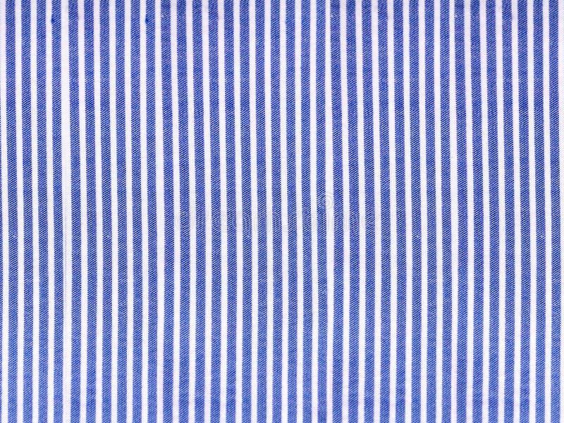 Gestreepte katoenen van het patroondenim stoffentextuur, canvasachtergrond stock afbeeldingen
