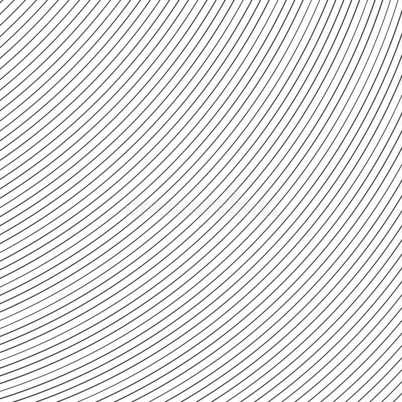 Gestreepte lijnen op witte achtergrond Abstract patroon met Gestreepte lijnen Vector illustratie vector illustratie