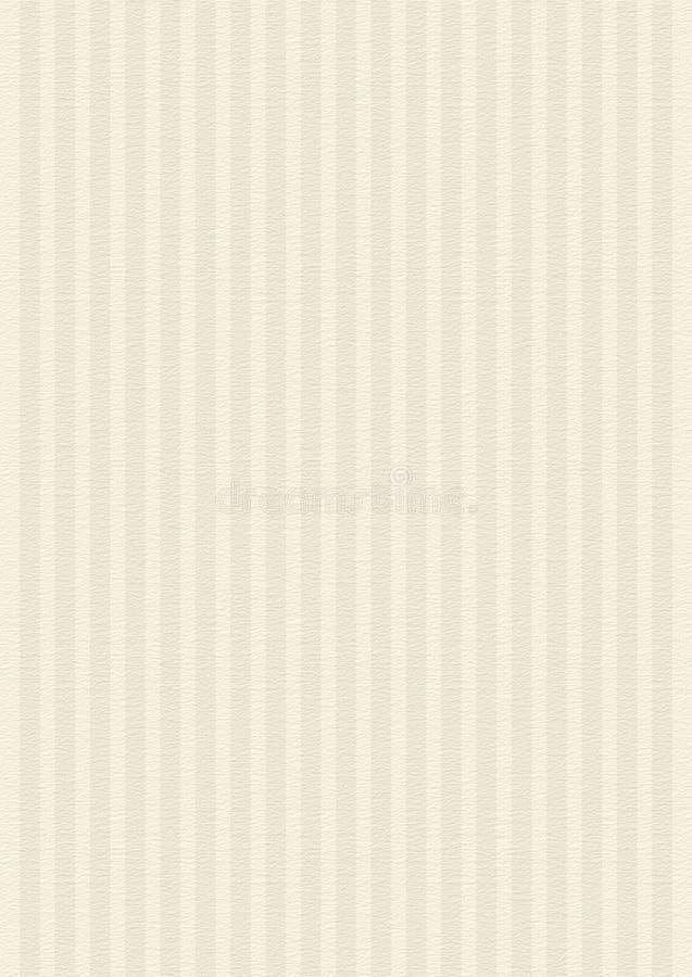 Gestreifte Creme, beige Papierbeschaffenheits-Hintergrund  stockfotos