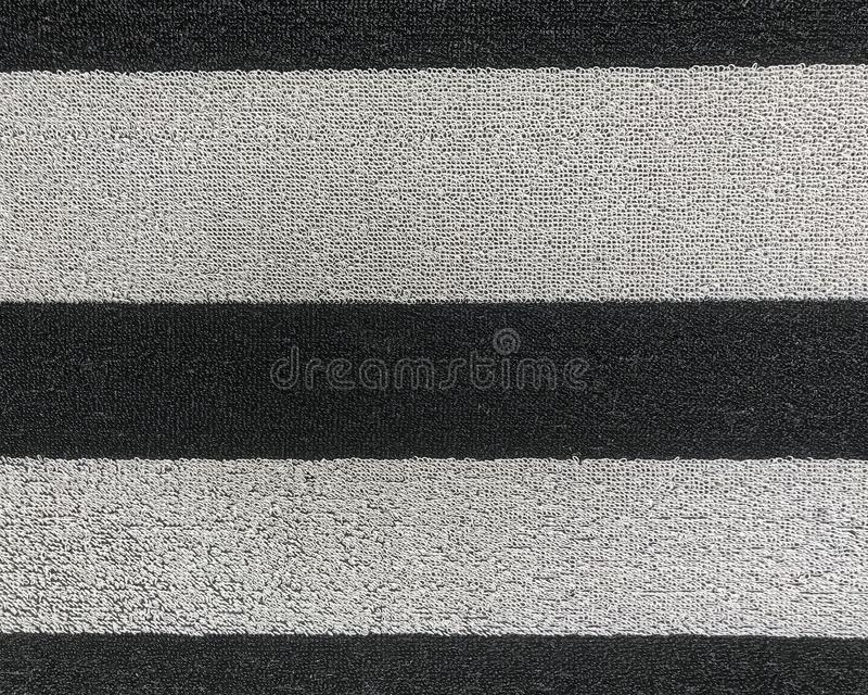 Gestreifte gesponnene Türmattennahaufnahme lizenzfreie stockfotografie