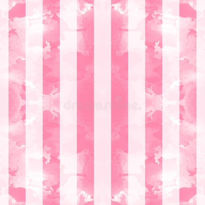 Gestreifter abstrakter Hintergrund Auch im corel abgehobenen Betrag Retro- Streifenmuster stock abbildung