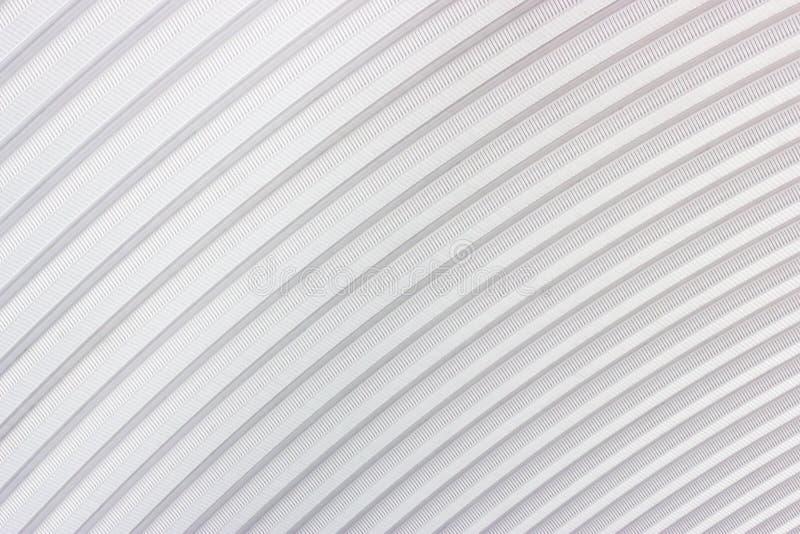 Gestreifter Blechtafel-Dach-Hintergrund lizenzfreie stockfotografie