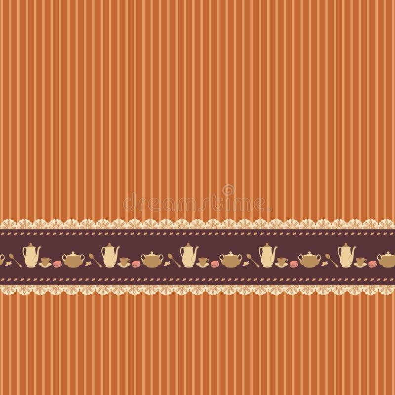 Download Gestreifter Brauner Hintergrund Vektor Abbildung - Illustration von element, auslegung: 27730204
