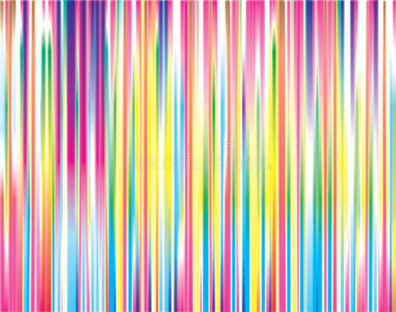 Gestreifter Farbenhintergrund stockfotos