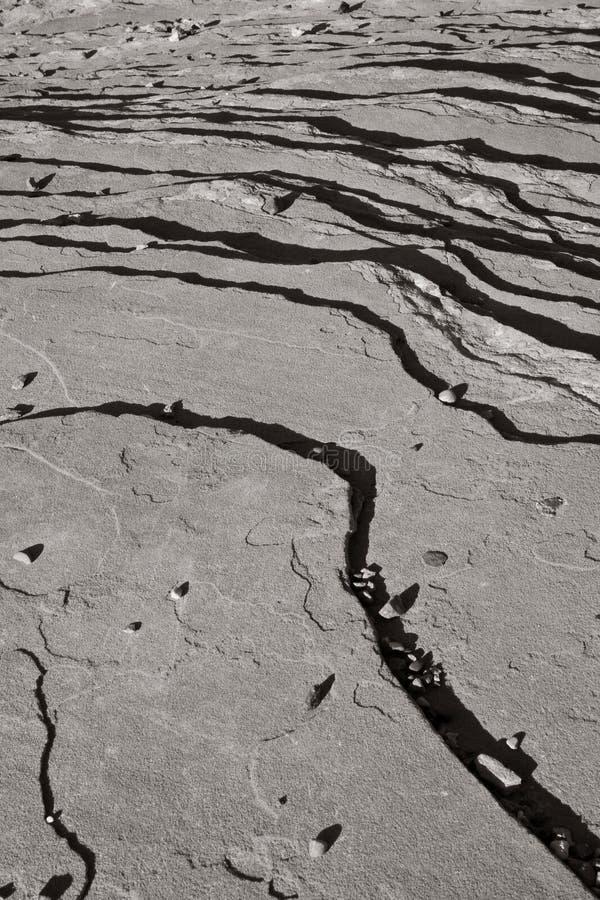 Gestreifter Felsen-Hintergrund lizenzfreies stockbild