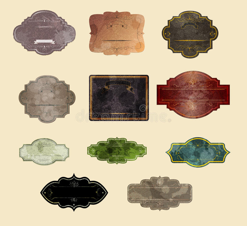 Gestreifter grunge Hintergrund lizenzfreie abbildung