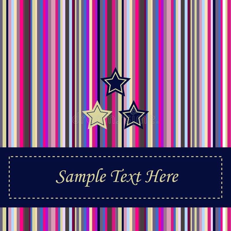 Gestreifter Hintergrund stock abbildung