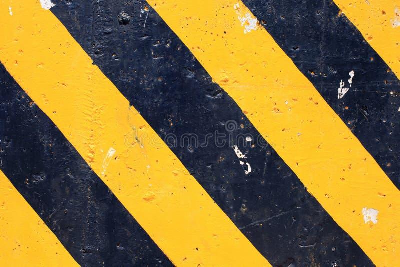 Gestreifter Hintergrund der abstrakten Gefahr stockfoto