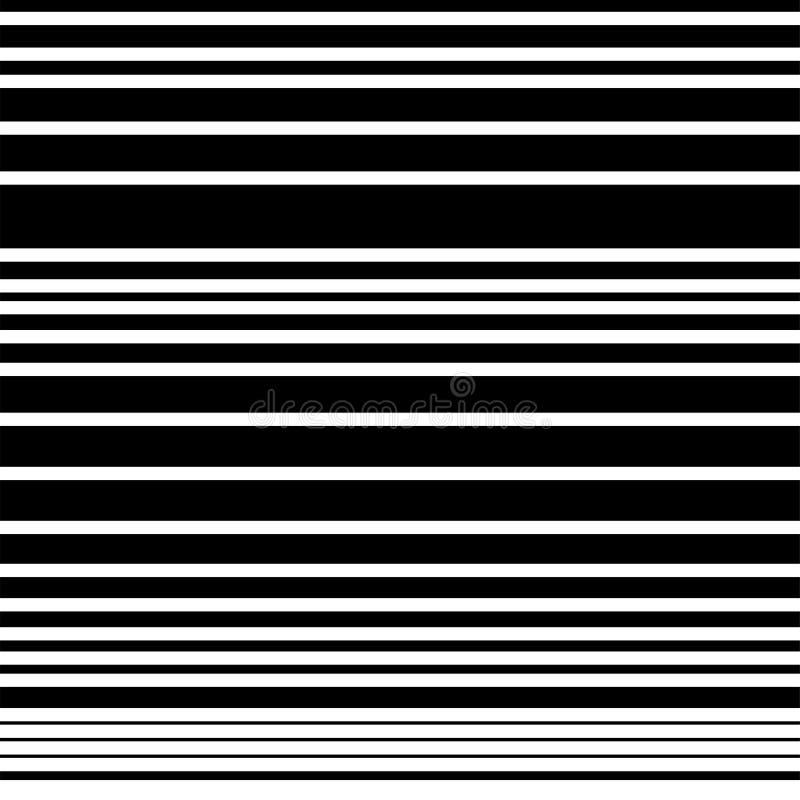 Gestreiftes nahtloses Muster, abstrakte Tapete Auch im corel abgehobenen Betrag lizenzfreie abbildung