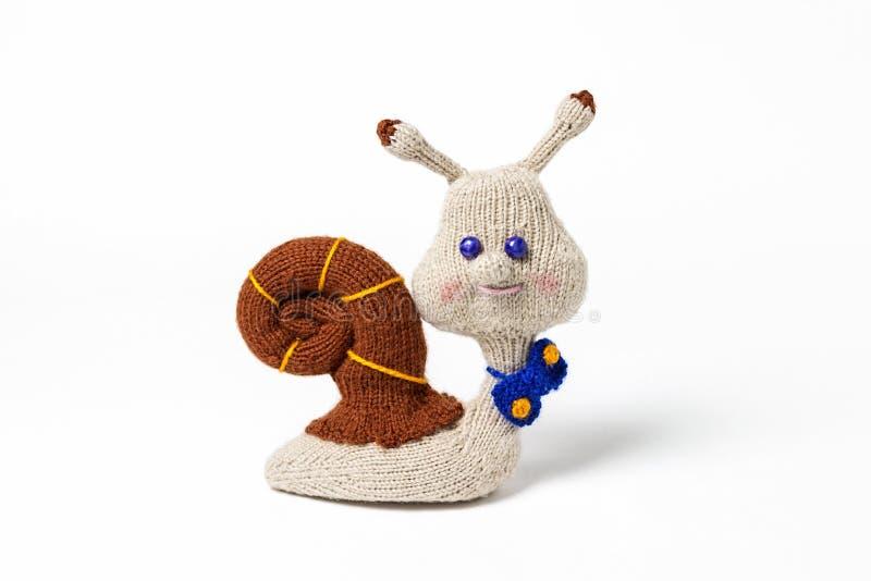 Gestrickte handgemachte Spielwaren Amigurumi handcraft Geschenk mit Liebe stockfoto