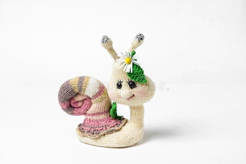 Gestrickte handgemachte Spielwaren Amigurumi handcraft Geschenk mit Liebe stockfotografie