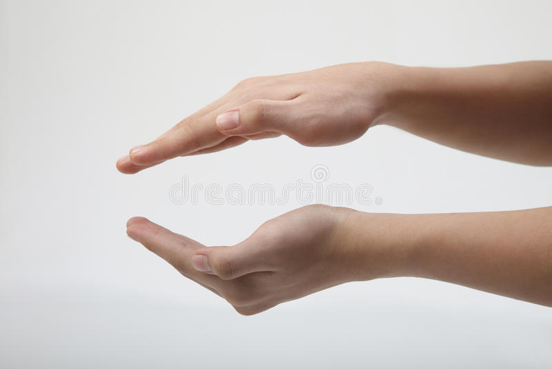 Gesture royalty free stock photography