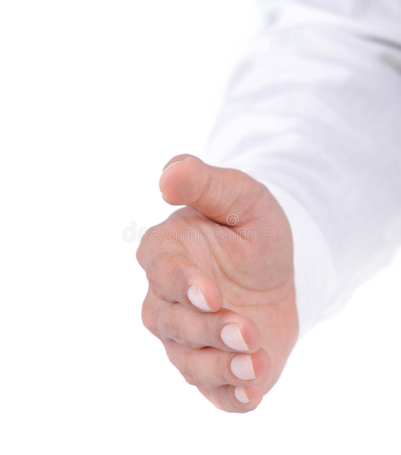 Download Gesture of hand shake stock image. Image of corporate - 20227303