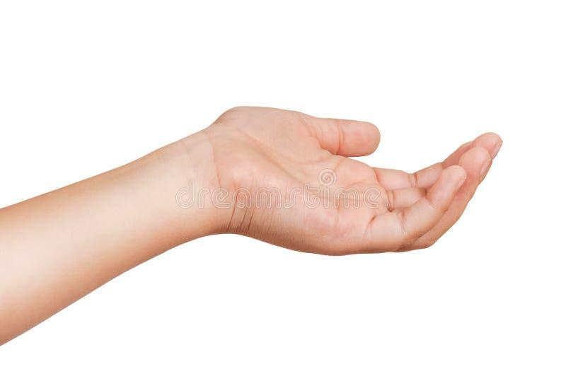 Gestures of children's hands stock images