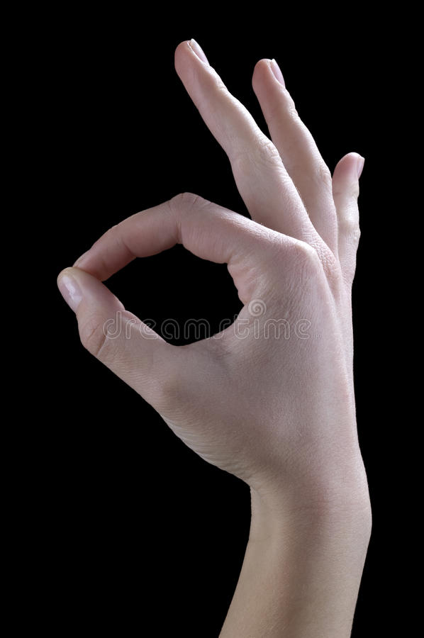 Download Gestures ok stock image. Image of well, finger, fingers - 11944575