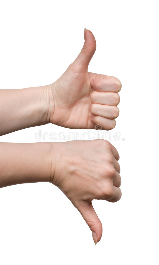 Download Gestures yes and no stock image. Image of positivity, choice - 9487199