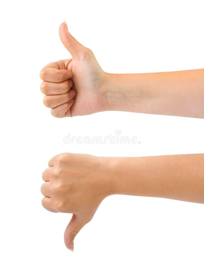 gesturing χέρια δύο στοκ εικόνες