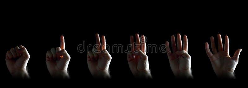 Gesturing установленные руки