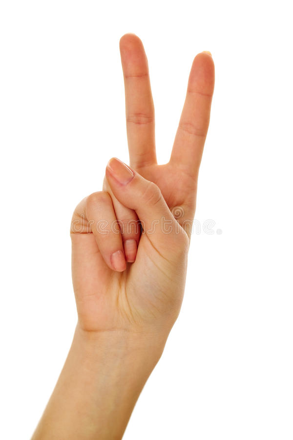 Download Gesturing stock image. Image of female, objects, signal - 24739361