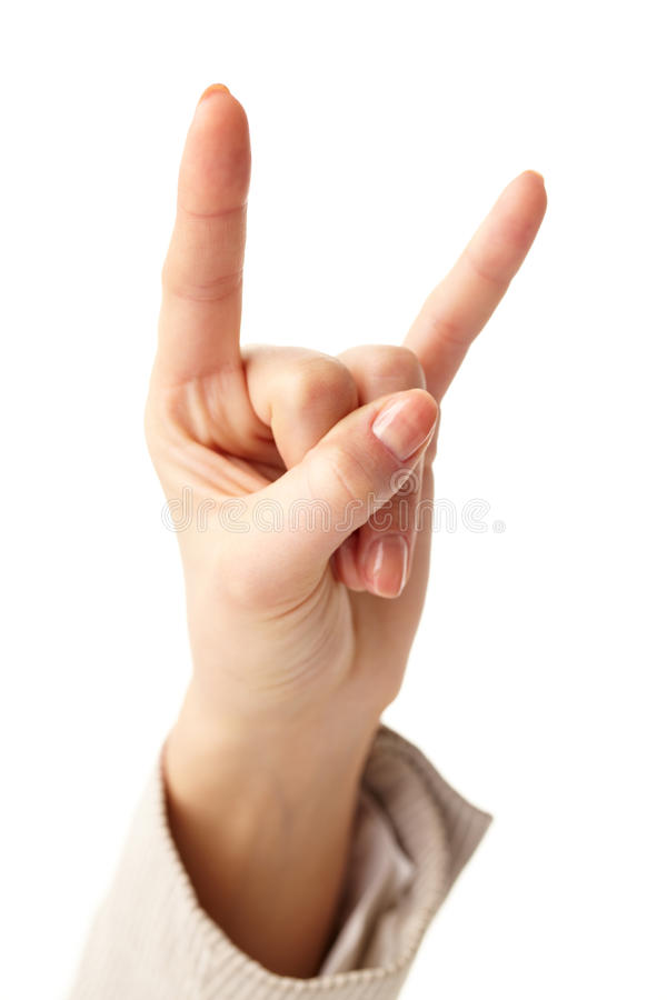 Download Gesturing stock photo. Image of show, hand, female, raised - 24763860