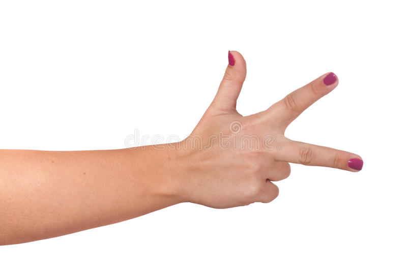 Download Gesturing hand stock image. Image of finger, vote, hand - 23617513