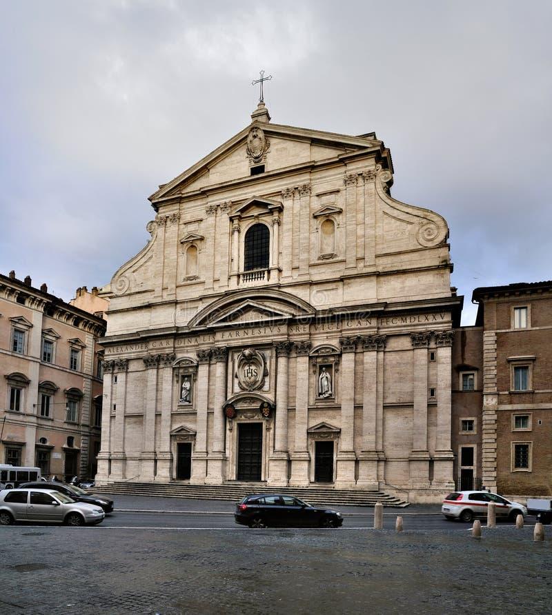 gesu Ρώμη στοκ εικόνες