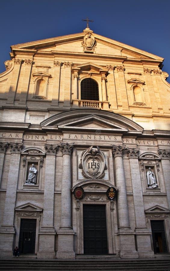 Free Gesu Jesuit Church Facade Rome Italy Stock Photo - 11158940