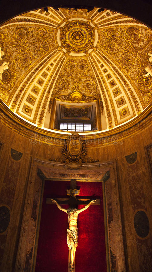 Gesu Jesuit-Kirche Rom Italien lizenzfreie stockbilder