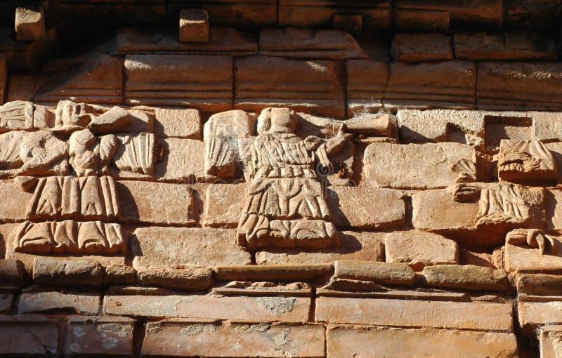 Gesuita Trinidad Mission, Paraguay immagine stock libera da diritti