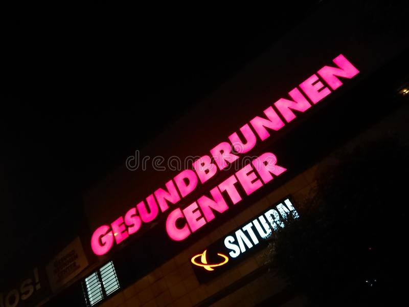 Gesundbrunnen centrum handlowe w Berlin, Niemcy fotografia stock