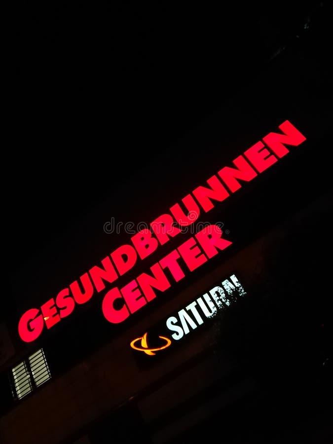 Gesundbrunnen centrum handlowe w Berlin, Niemcy obraz stock