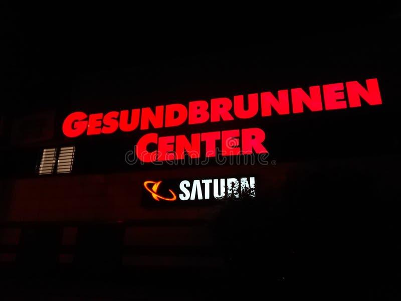 Gesundbrunnen centrum handlowe w Berlin, Niemcy fotografia royalty free