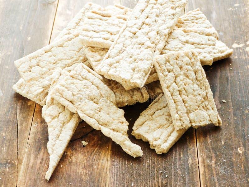 Gesunde Brotscheiben stockfoto