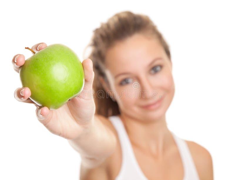 Gesunde Diät für perfekten Körper stockfotografie