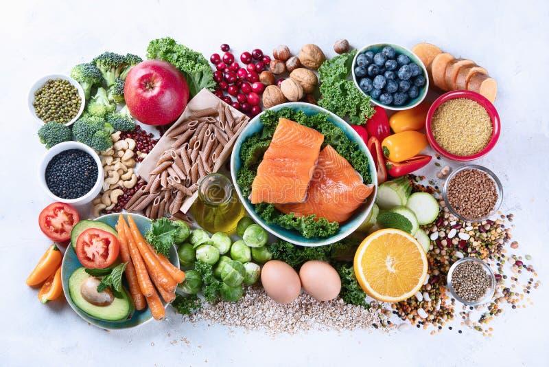 Gesunde Ernährung mit Ballaststoffen, Antioxidantien lizenzfreie stockfotografie