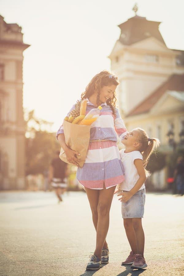 Gesunde Familie ist mein Interesse lizenzfreies stockbild