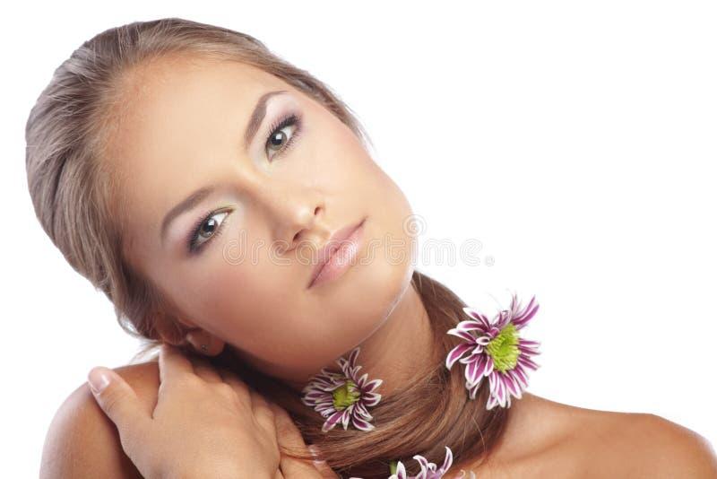 Gesunde Haut und Haar lizenzfreies stockbild